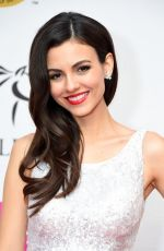 VICTORIA JUSTICE at Unbridled Eve Gala in Louisville 05/04/2018