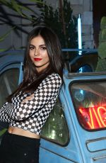 VICTORIA JUSTICE at Vigo Video Launch Party at Le Jardin in Hollywood 05/24/2018