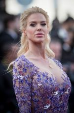 VICTORIA SILVSTEDT at Ash is Purest White Premiere at Cannes Film Festival 05/11/2018
