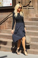VICTORIA SILVSTEDT Out adn About in New York 05/03/2018