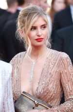 XENIA VAN DER WOODSEN at Girls of the Sun Premiere at Cannes Film Festival 05/12/2018