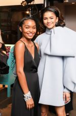 YARA SHAHIDI at Tiffany & Co. Jewelry Collection Launch in New York 05/03/2018