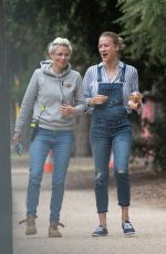 YVONNE STRAHOVSKI and NOOMI RAPACE on the Set of Angel of Mine in Melbourne 05/02/2018