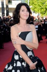 ZABOU BREITMAN at Ash is Purest White Premiere at Cannes Film Festival 05/11/2018