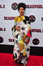 ZAZIE BEETZ at Deadpool 2 Special Screening in New York 05/14/2018