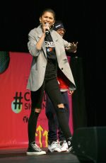 ZENDAYA at 5th National College Signing Day in Philadelphia 05/02/2018
