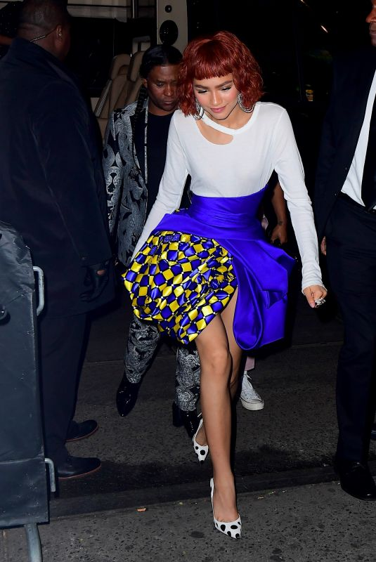 ZENDAYA at MET Gala After-party in New York 05/07/2018