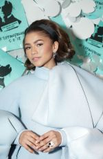 ZENDAYA at Tiffany & Co. Jewelry Collection Launch in New York 05/03/2018