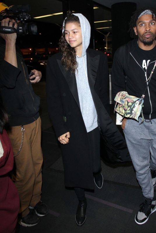 ZENDAYA COLEMAN at LAX Airport in Los Angeles 05/21/2018