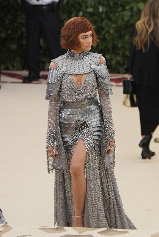 ZENDAYA COLEMAN at MET Gala 2018 in New York 05/07/2018