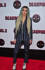 ZHAVIA at Deadpool 2 Special Screening in New York 05/14/2018