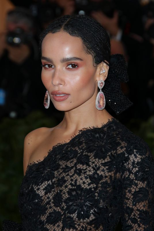 ZOE KRAVITZ at MET Gala 2018 in New York 05/07/2018