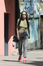 ZOE KRAVITZ Out and About in New York 05/08/2018