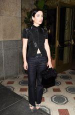 ZOE-LISTER-JONES Arrives at Vogue Denim Dinner in Los Angeles 05/16/201