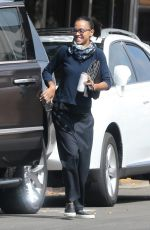 ZOE SALDANA Out and About in Los Angeles 05/26/2018