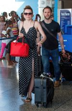 ZOE SALMON At Airport in Barbados 04/30/2018