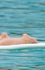 ZOE SALMON in Bikini Paddle Boarding in Barbados 04/30/2018