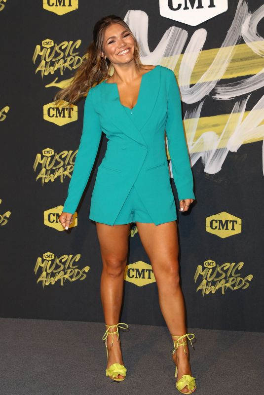 ABBY ANDERSON at CMT Music Awards 2018 in Nashville 06/06/2018