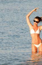 ABIGAIL ABBEY CLANCY in Bikini at a Beach in Mallorca 06/19/2018