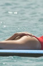 ABIGAIL ABBEY CLANCY in Swimsuit at a Yacht in Barbados 06/12/2018
