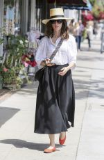 ABIGAIL SPENCER Out Shopping in Los Angeles 06/04/2018