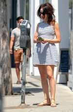 ABIGAIL SPENCER Out Shopping in West Hollywood 06/22/2018