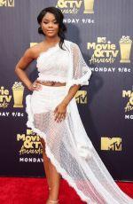 AJIONA ALEXUS at 2018 MTV Movie and TV Awards in Santa Monica 06/16/2018