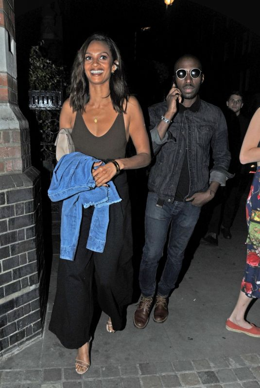 ALESHA DIXON at Chiltern Firehouse in London 06/14/2018