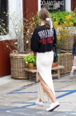 ALESSANDRA AMBROSIO at a Country Mart in Brentwood 06/06/2018