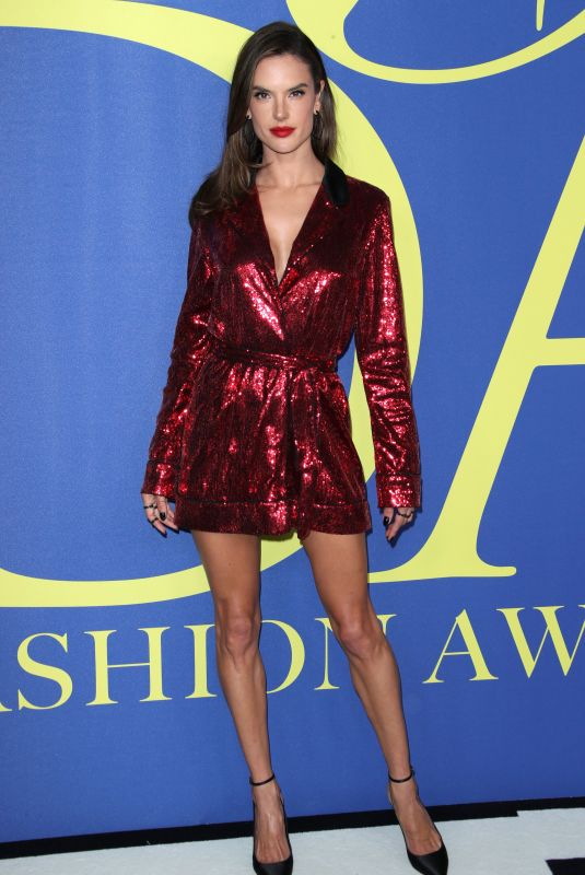 ALESSANDRA AMBROSIO at CFDA Fashion Awards in New York 06/05/2018