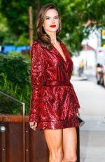 ALESSANDRA AMBROSIO Heading to 2018 CFDA Fashion Awards in New York 06/05/2018