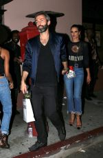 ALESSANDRA AMBROSIO Leaves Moschino Afterparty in Hollywood 06/08/2018