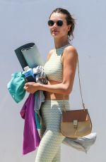 ALESSANDRA AMBROSIO Leaves Yoga Class in Los Angeles 06/11/2018