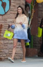 ALESSANDRA AMBROSIO Out Shopping in Los Angeles 06/24/2018