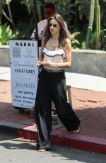 ALESSANDRA AMBROSIO Out Shopping in West Hollywood 06/21/2018