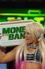 ALEXA BLISS at WWE Money in the Nank in Chicago 06/17/2018