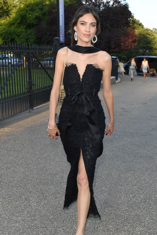 ALEXA CHUNG at Serpentine Gallery Summer Party in London 06/19/2018
