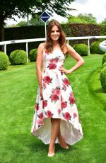 ALEXANDRA FELSTEAD at Investec Derby Festival Ladies Day at Epsom Racecourse 06/01/2018