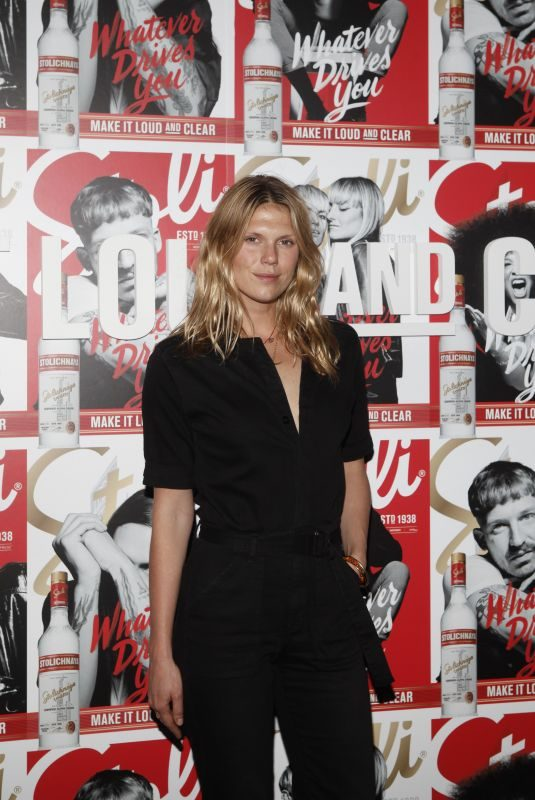 ALEXANDRA RICHARDS at Stoli Vodka's Global Loud and Clear Campaign Launch in New York 06/14/2018