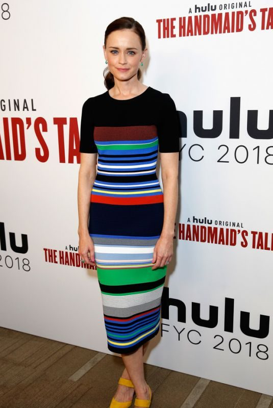 ALEXIS BLEDEL at The Handmaid's Tale FYC in Beverly Hills 06/07/2018