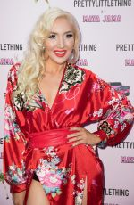 ALEXIS KNOX at Prettylittlething x Maya Jama Launch Party in London 06/25/2018
