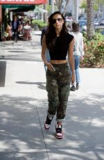 ALEXIS REN at a Dry Bar in Beverly Hills 06/01/2018