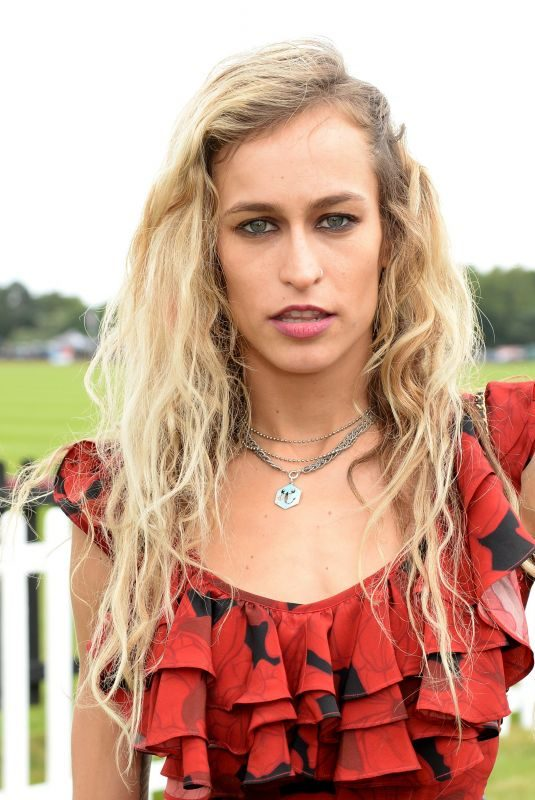 ALICE DELLAL at Cartier Queens Cup Polo in Windsor 06/17/2018