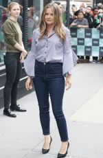 ALICIA SILVERSTONE at Build Series in New York 06/05/2018