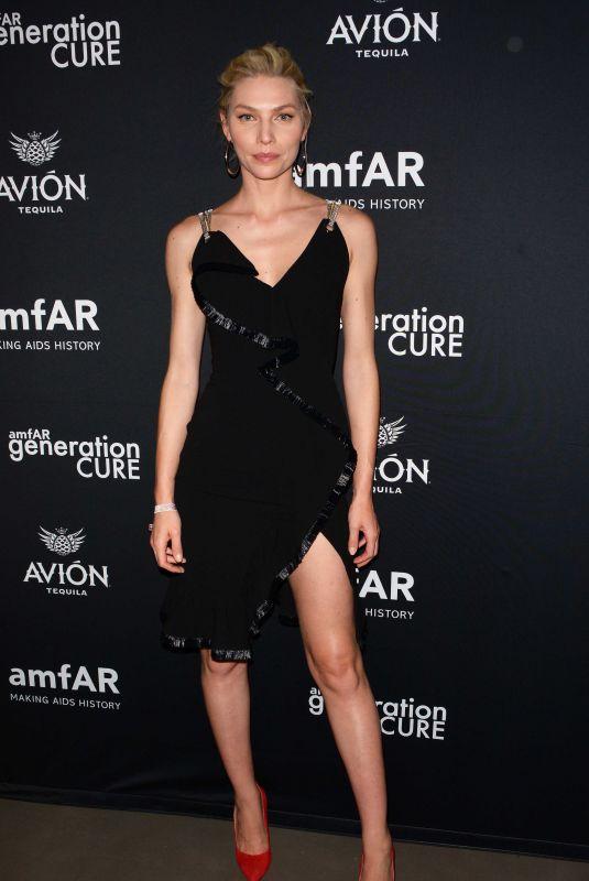 ALINE WEBER at Amfar Gencure Solstice 2018 in New York 06/21/2018