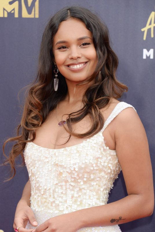 ALISHA BOE at 2018 MTV Movie and TV Awards in Santa Monica 06/16/2018
