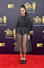 ALISON BRIE at 2018 MTV Movie and TV Awards in Santa Monica 06/16/2018