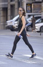 ALISON BRIE Heading to a Gym in New York 06/19/2018