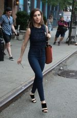 ALISON BRIE Leaves Bowery Hotel in New York 06/18/2018