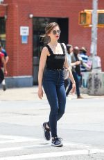 ALISON BRIE Out in New York 06/20/2018